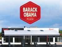 Barack Obama Plaza | Central Hotel, Tullamore